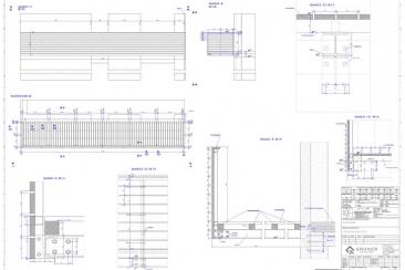 Balkon Anbau - Stahl verzinkt