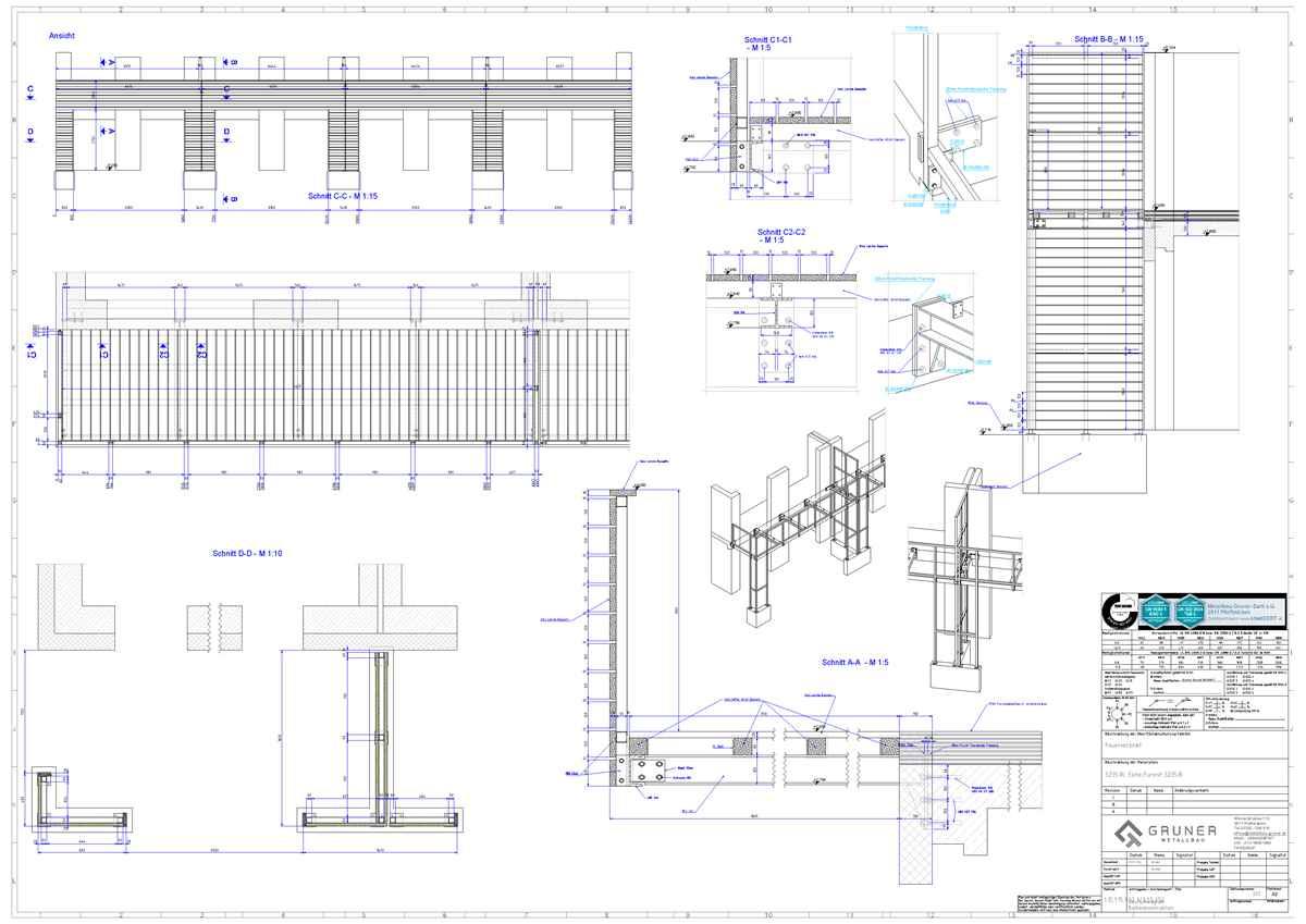 balkon stahl verzinkt metallbau gruner. Black Bedroom Furniture Sets. Home Design Ideas