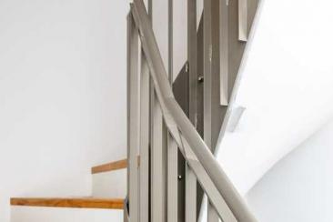 Geländer (Stahlgeländer-pulverbeschichtet)