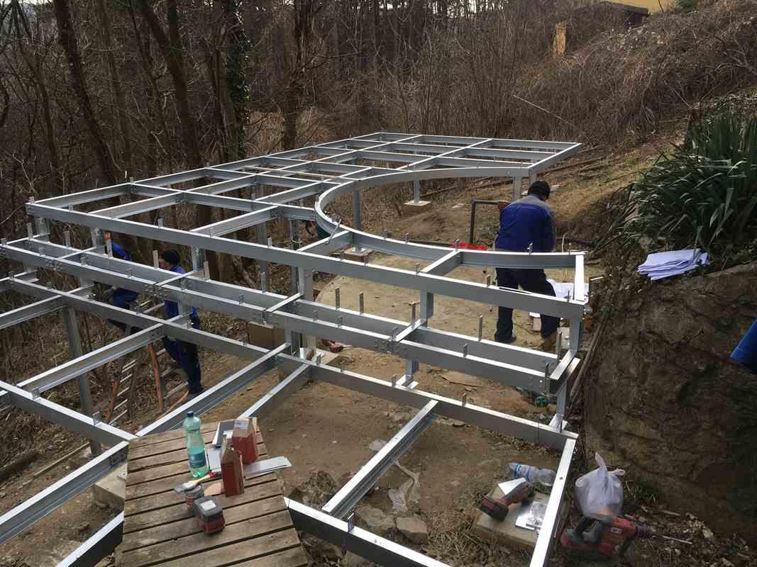 Favorit Stahlterrasse | Metallbau Gruner MZ87