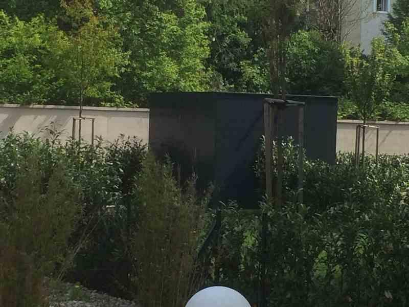 Gerätehaus - Einhausung mit Alucobond Fassade