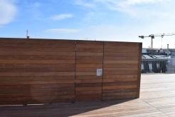 Stahl-Unterkonsturktion für Holzeinhausung