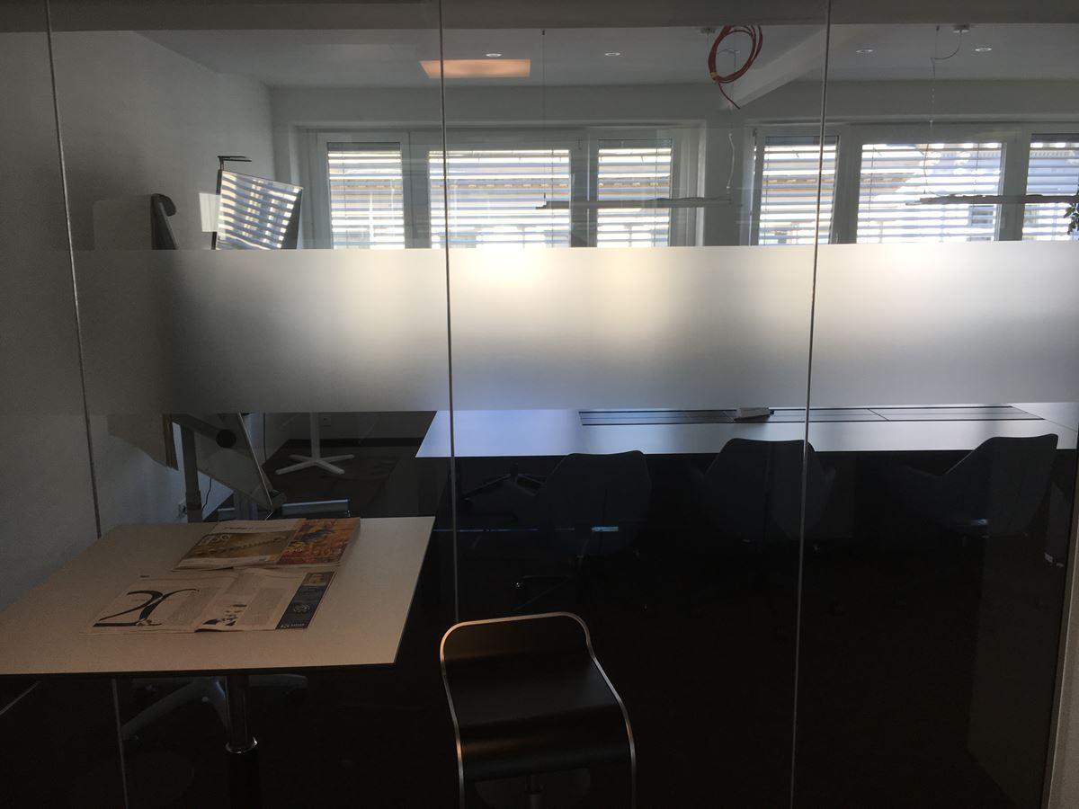 Glaswand - Glastür