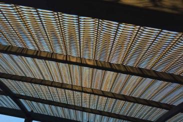 Planung und Produktion des Fassadenmusters