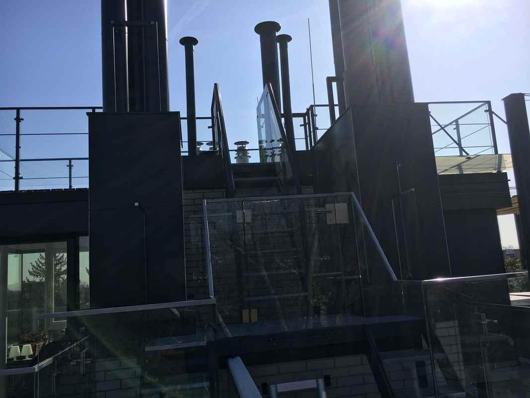 Stahltreppe - Pulverbeschichtet