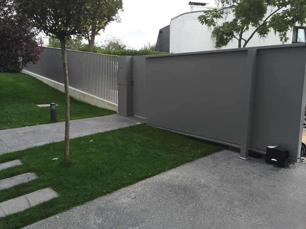 Gartenzaun Aluminium Pulverbeschichtet